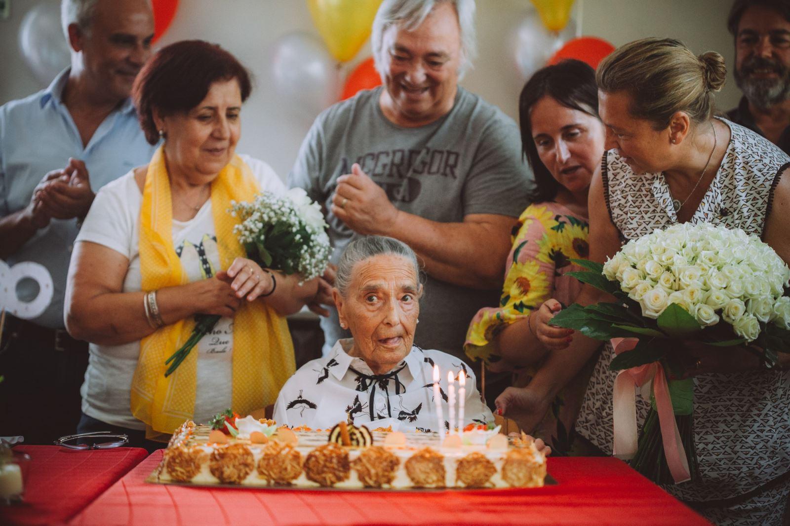 Póvoa de Lanhoso | Utente da ERPI São José festeja 100 anos de vida