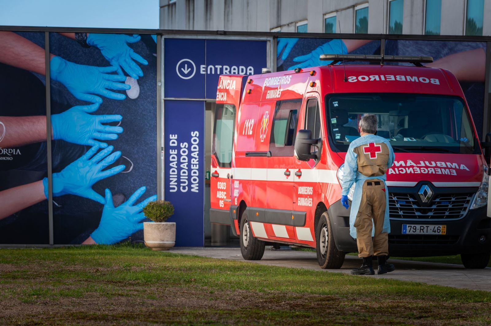 Póvoa de Lanhoso   Hospital de campanha para aliviar hospitais da região