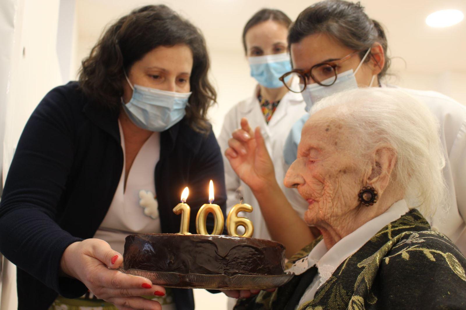 Vale de Cambra | Sobreviver à Covid-19 com 106 anos de idade