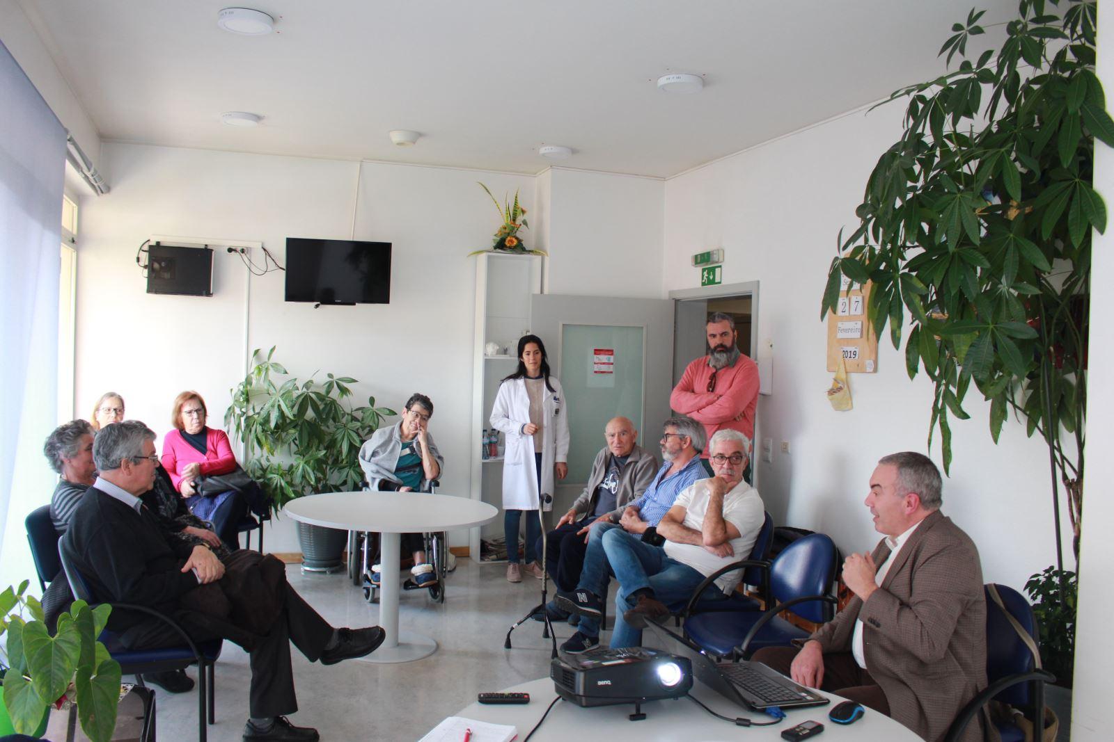 Arouca | Apoiar  vítimas  de AVC e suas famílias