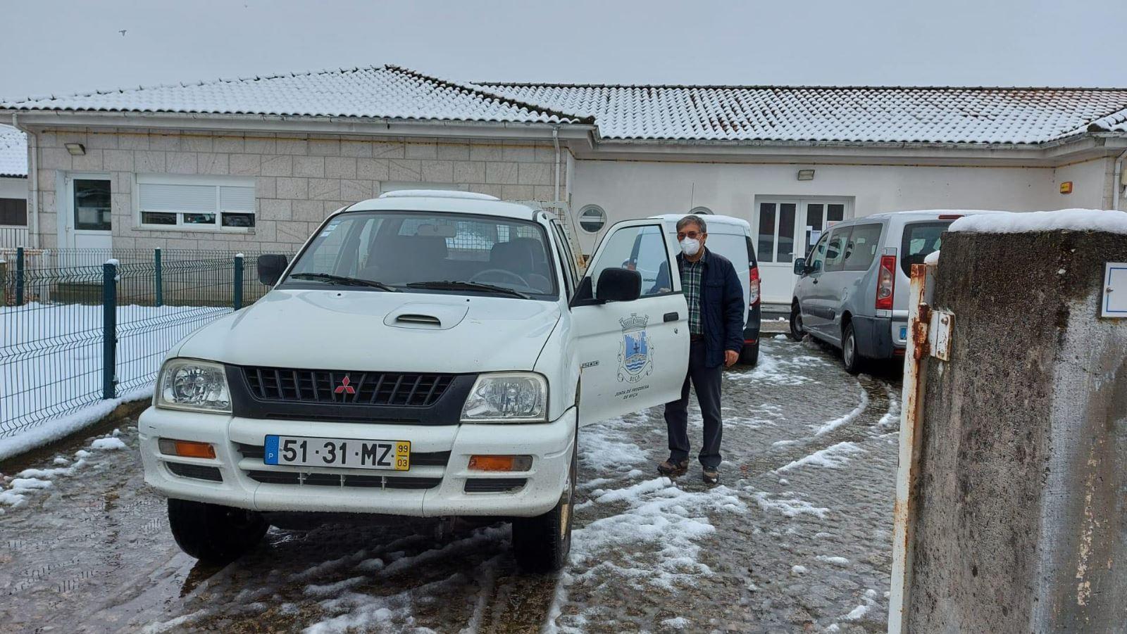 Boticas | Neve não comprometeu a entrega de refeições