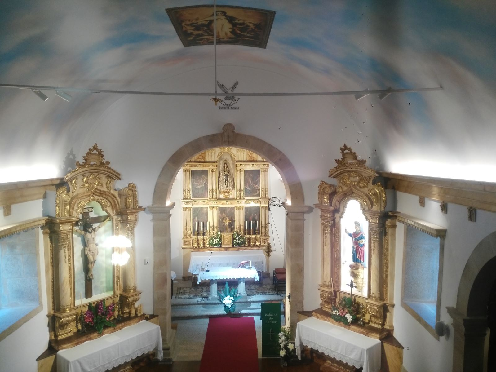 Soalheira | Capela restaurada já reabriu as portas à comunidade