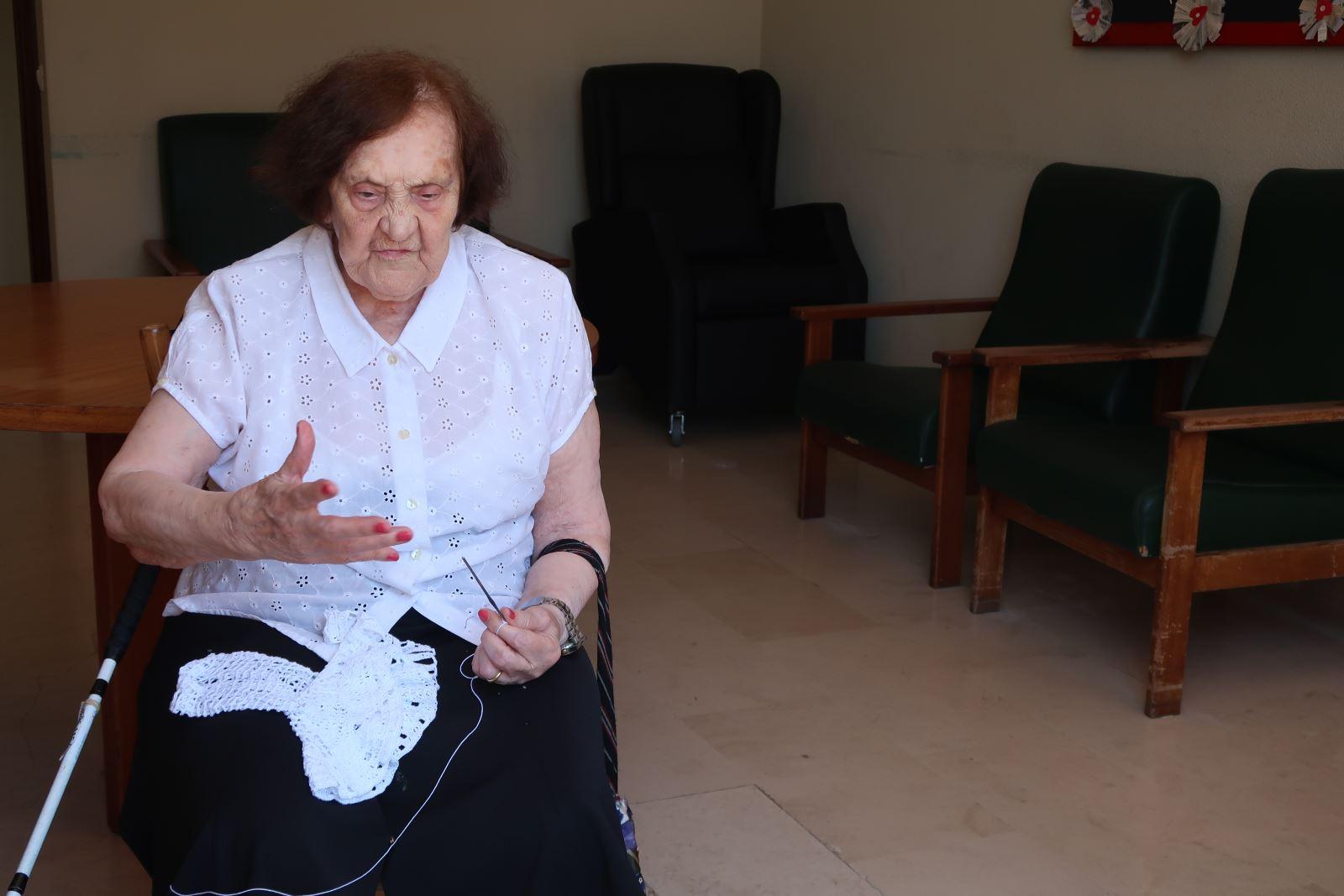 Rostos | Fazer croché mesmo depois da cegueira