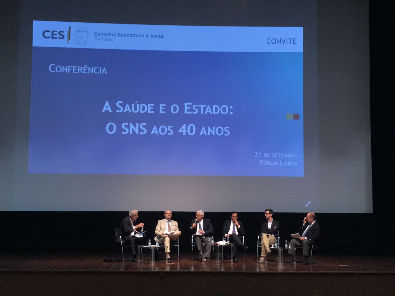 CES | Especialistas debatem papel do SNS em Portugal