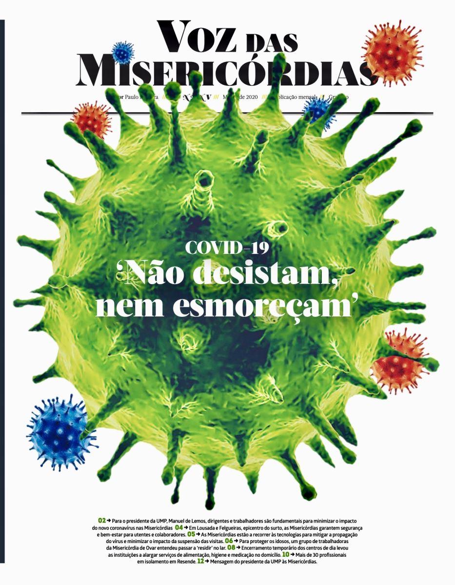 UMP e Misericórdias unidas à distância no combate à pandemia