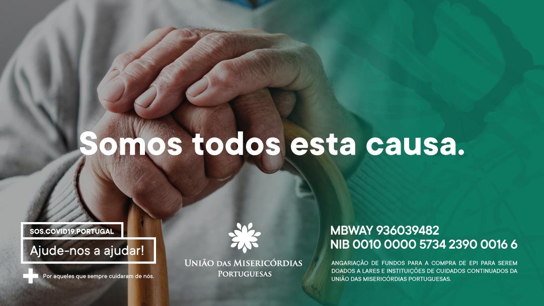Movimento solidário SOS.Covid.19 faz primeira entrega de EPI a 9 de abril