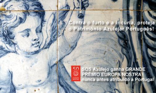 'Prémios SOS Azulejo' com candidaturas abertas