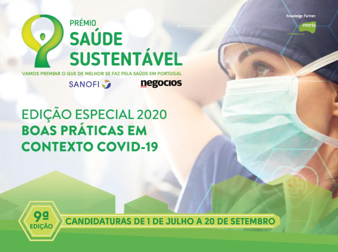 Candidaturas abertas para o 9º Prémio Saúde Sustentável