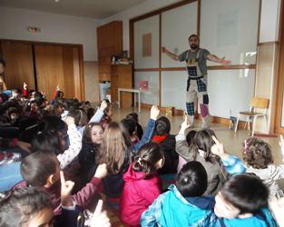 Águeda   Crianças na semana cultural do concelho