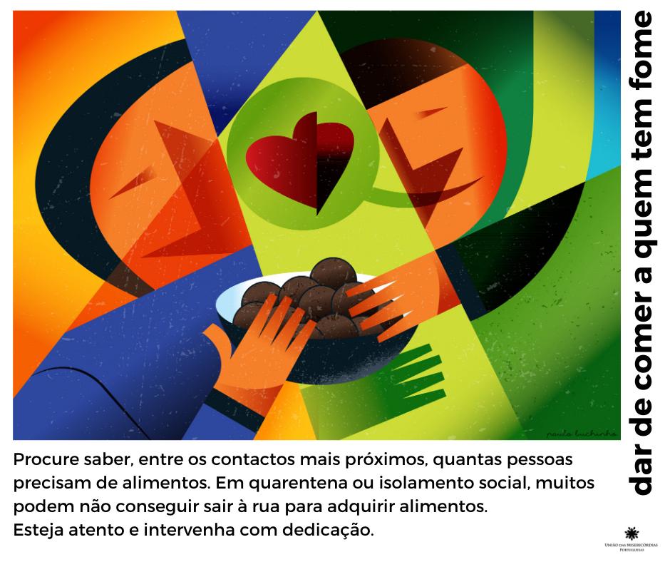 Obras de misericórdia inspiram solidariedade nas redes sociais