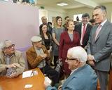 Borba | Visita do Presidente da República à Aldeia Social