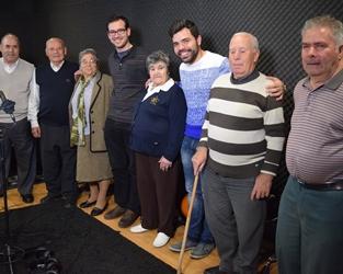 Bragança | Idoso participam na gravação de um álbum