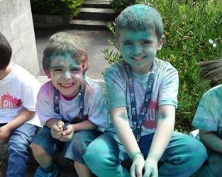 Gaia   Festival das cores no dia da criança