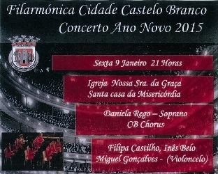 Castelo Branco   Concerto de ano novo na igreja