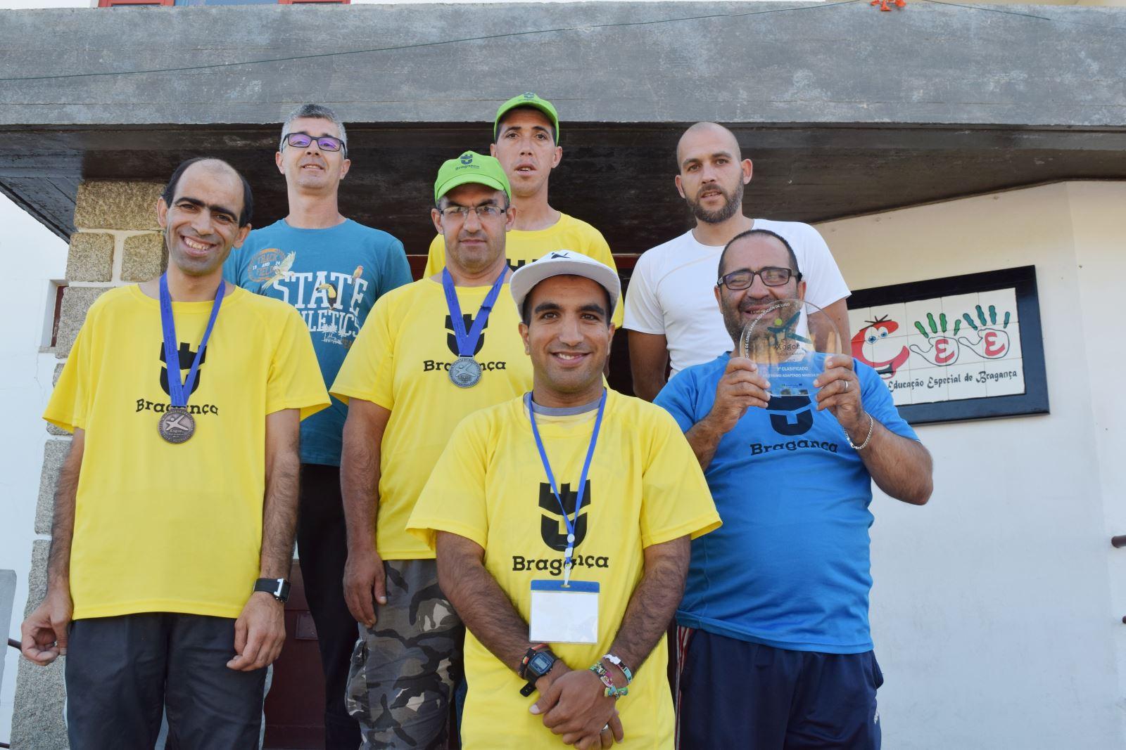 Bragança | Medalhas para utentes do Centro de Educação Especial