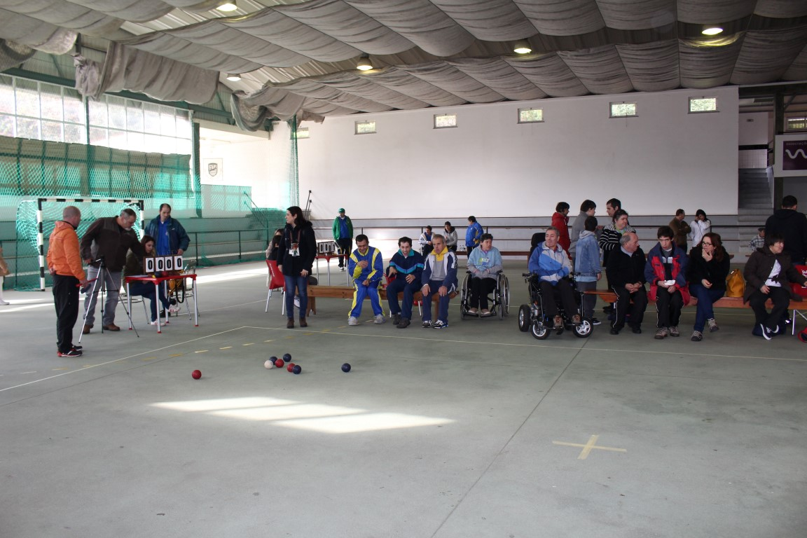 Mortágua | 70 jogadores em campo em encontro de boccia