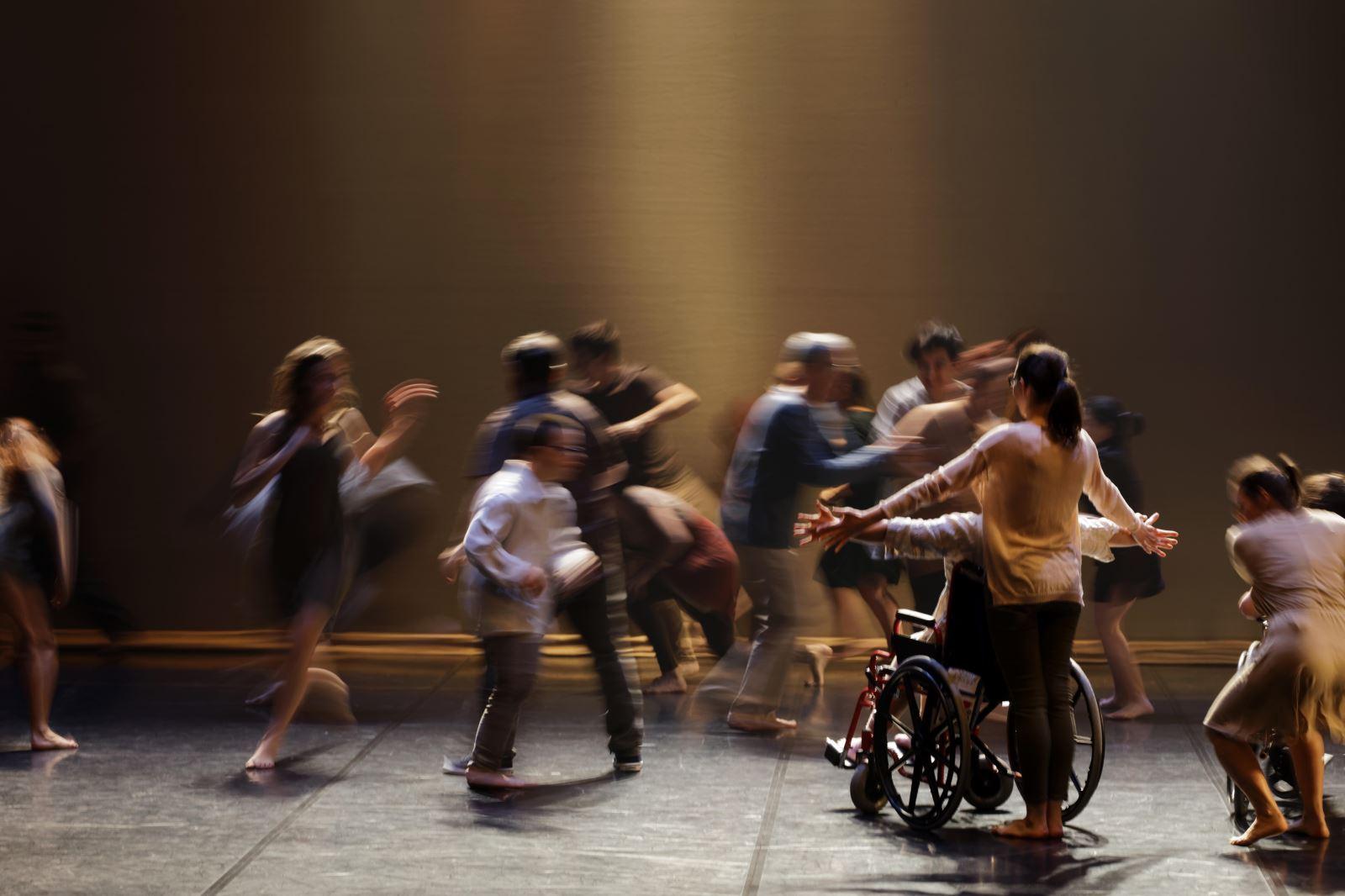Dança inclusiva | 'Através da dança somos todos iguais'