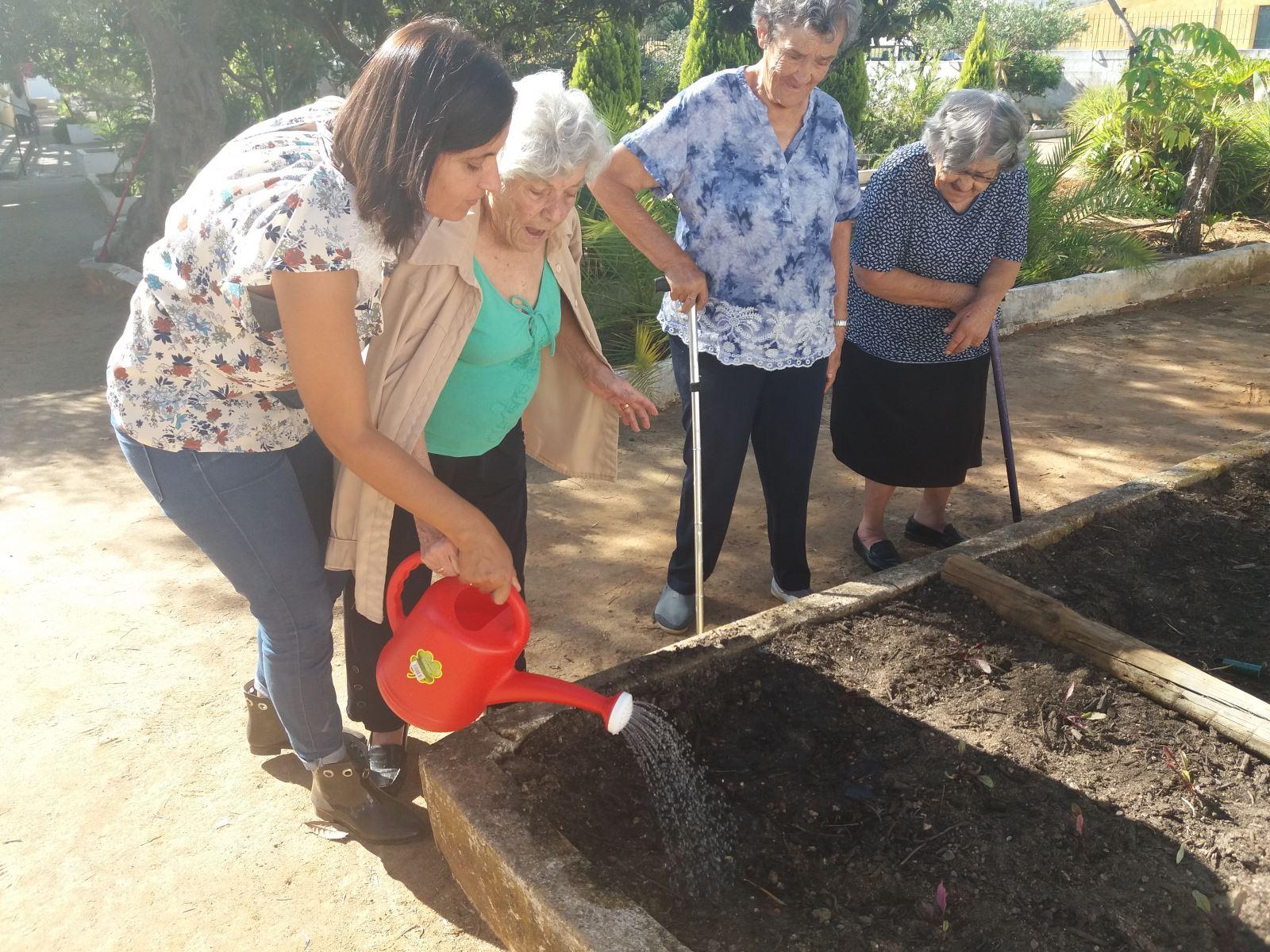 Olhão | Horta como terapia para os idosos