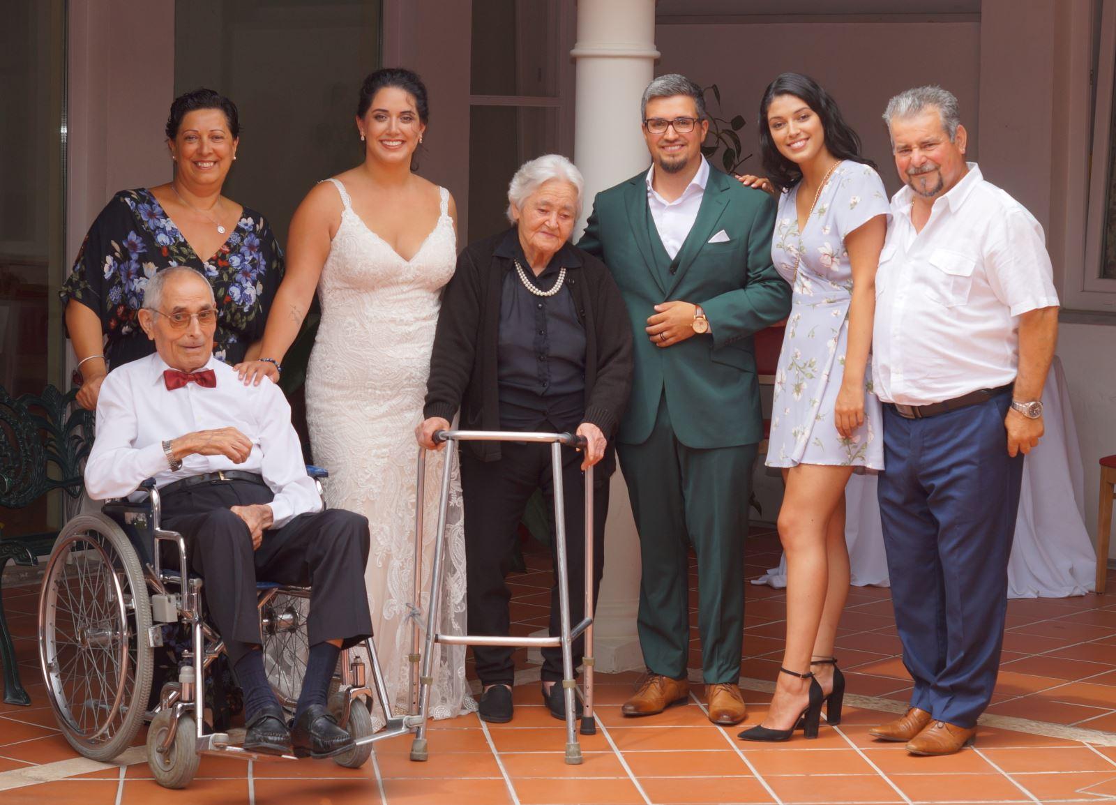 Almeirim | Casamento repleto de  emoção no lar de idosos