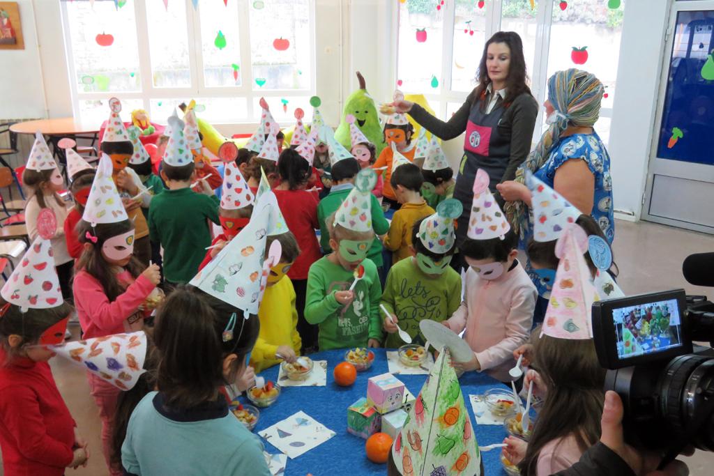 Boticas | Crianças do pré-escolar retomam projeto 'Heróis da Fruta'