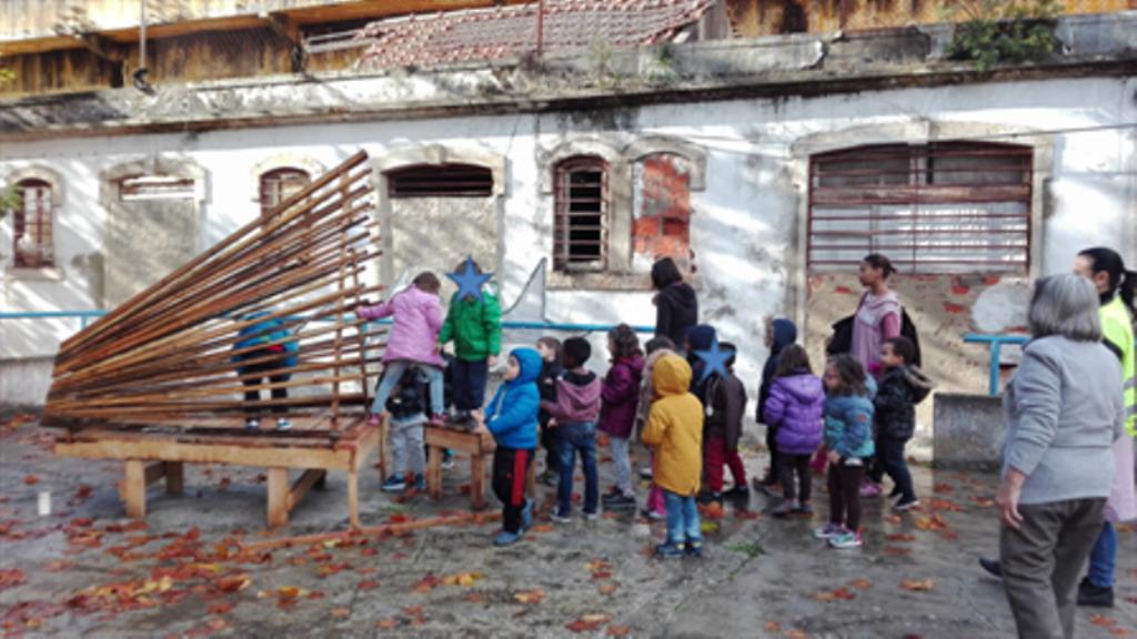 Almada | Crianças conhecem antigo presídio da Trafaria