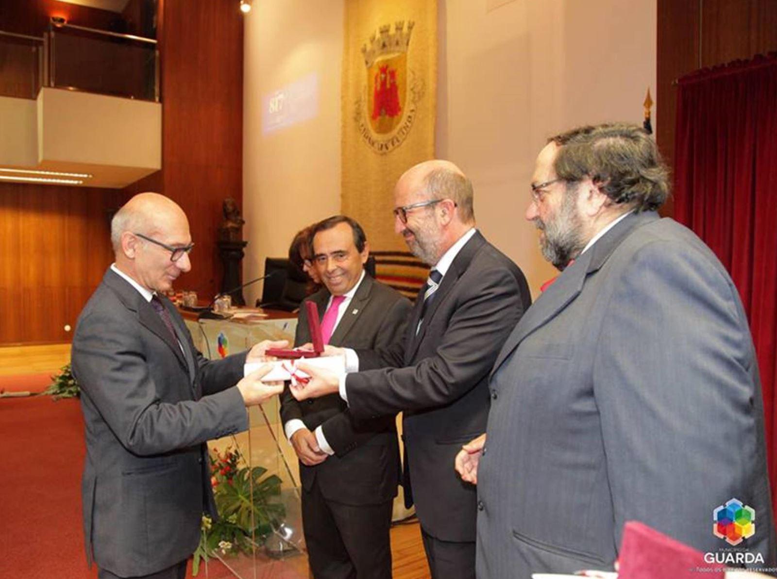 Guarda | Conservatório de Música agraciado com medalha de mérito