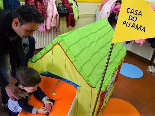 Vila Flor | Solidariedade das crianças no Dia do Pijama