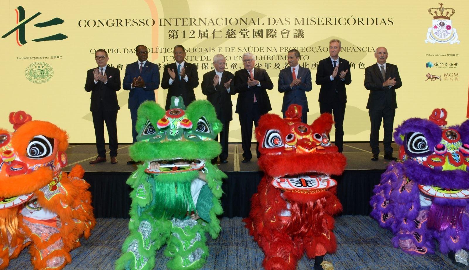 12.º Congresso Internacional das Misericórdias e 450 anos Santa Casa de Macau