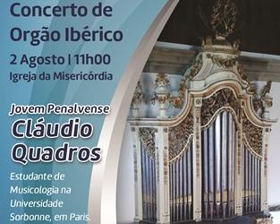 Penalva do Castelo | Concerto de órgão ibérico na igreja