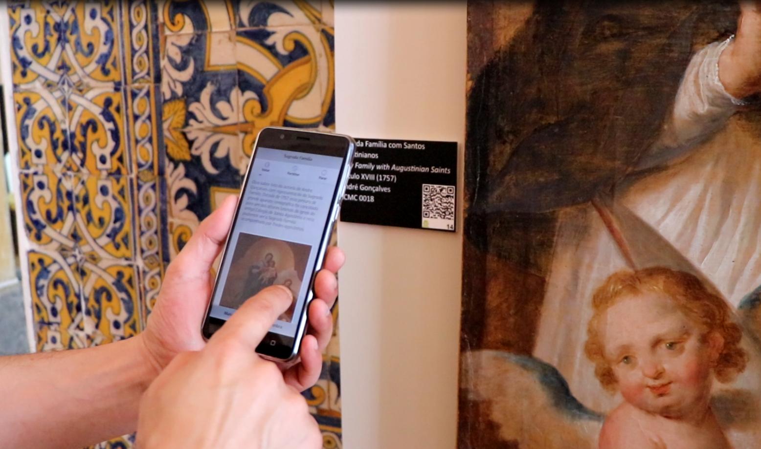 Coimbra | Aplicação móvel para visitantes do museu