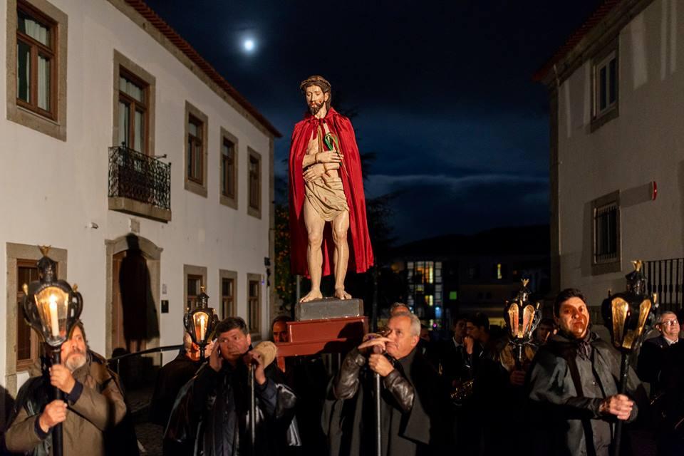 Fundão | Recriação dos quadros vivos da Paixão em procissão da Quinta-feira Santa