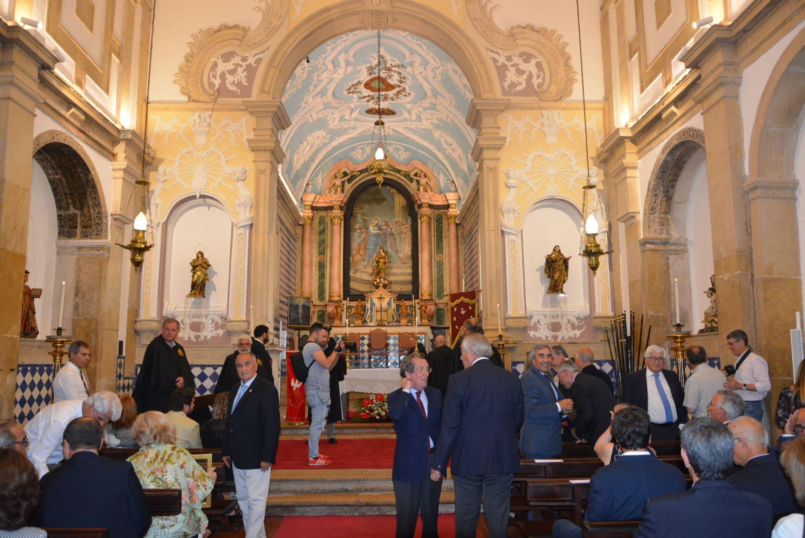 Tomar | Inauguração de obras de restauro na igreja