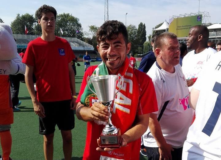 Vila do Conde |Utente volta a ser campeão de parahóquei