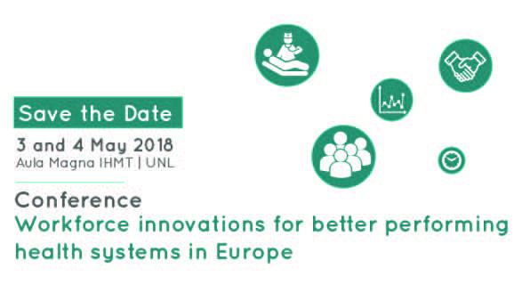 Conferência | Debater a necessidade de transformar a força de trabalho na saúde