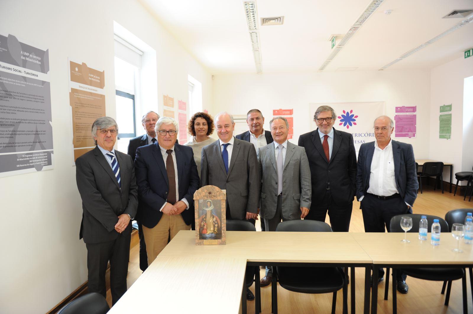 Reunião com PSD dedicada ao setor social e solidário