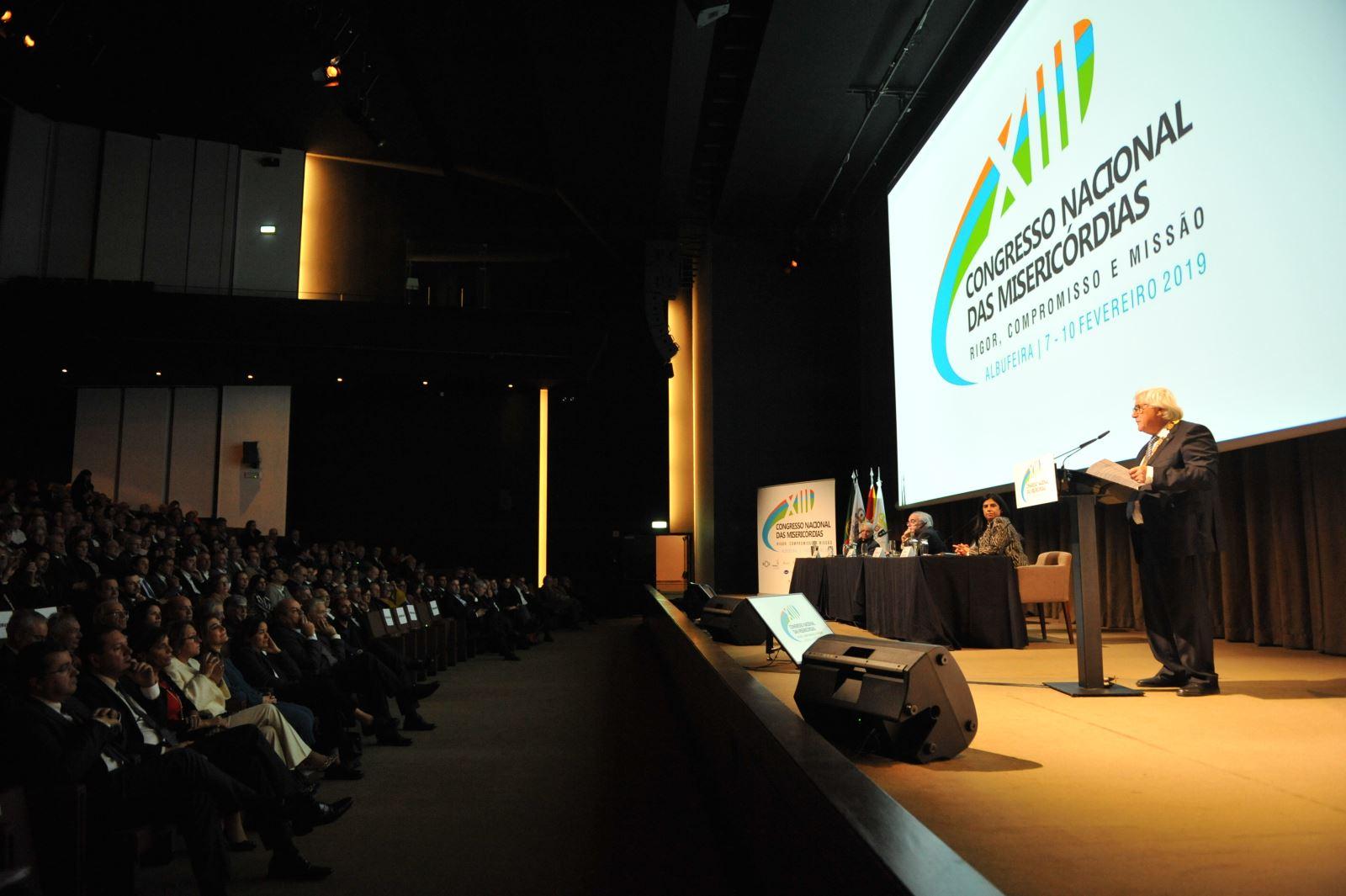 Discurso de Manuel de Lemos na abertura do 13º Congresso Nacional das Misericórdias