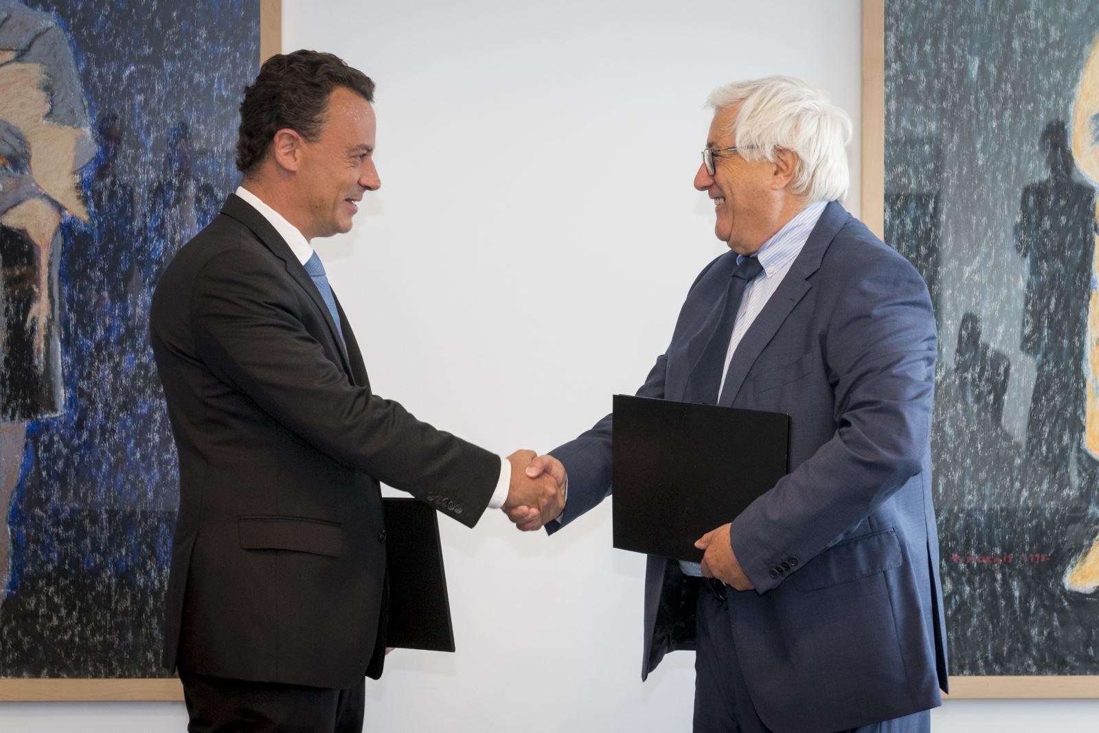 UMP celebra protocolo de cooperação com a NOS