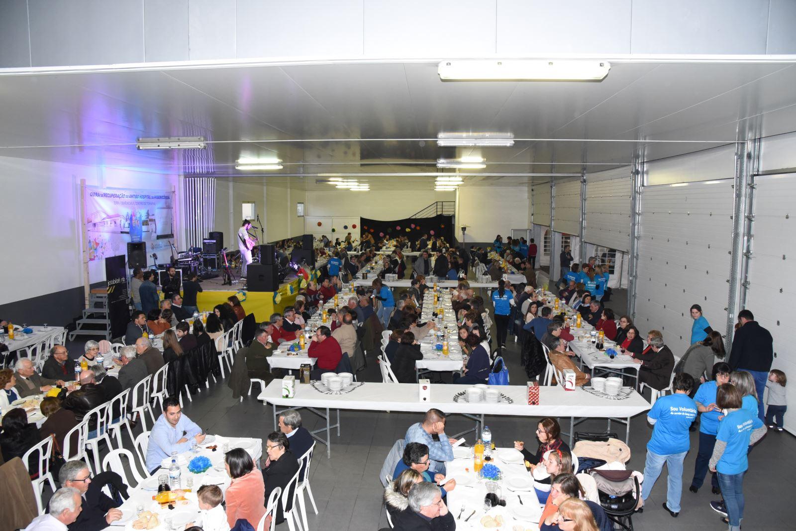 Penalva do Castelo | Angariação de fundos junta 500 pessoas em jantar