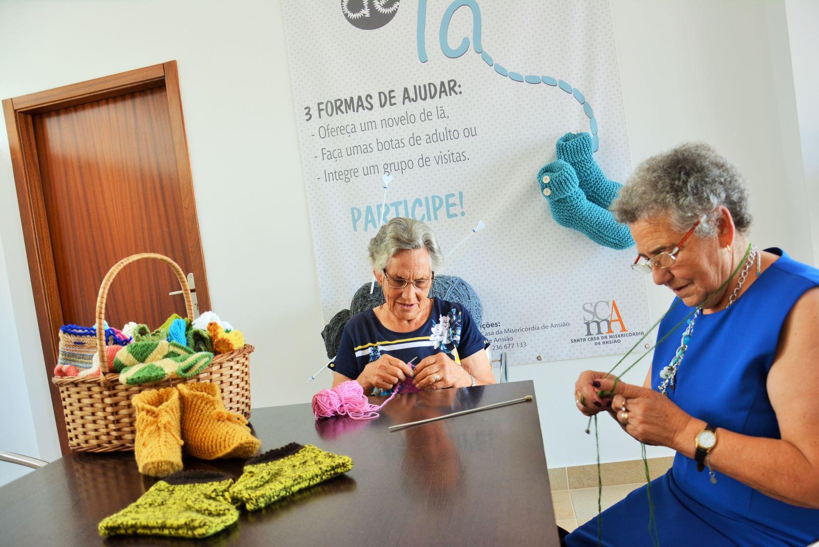 Ansião | Pezinhos de lã para combater o isolamento