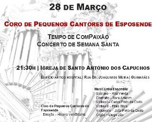 Guimarães | Concerto na igreja para celebrar Semana Santa