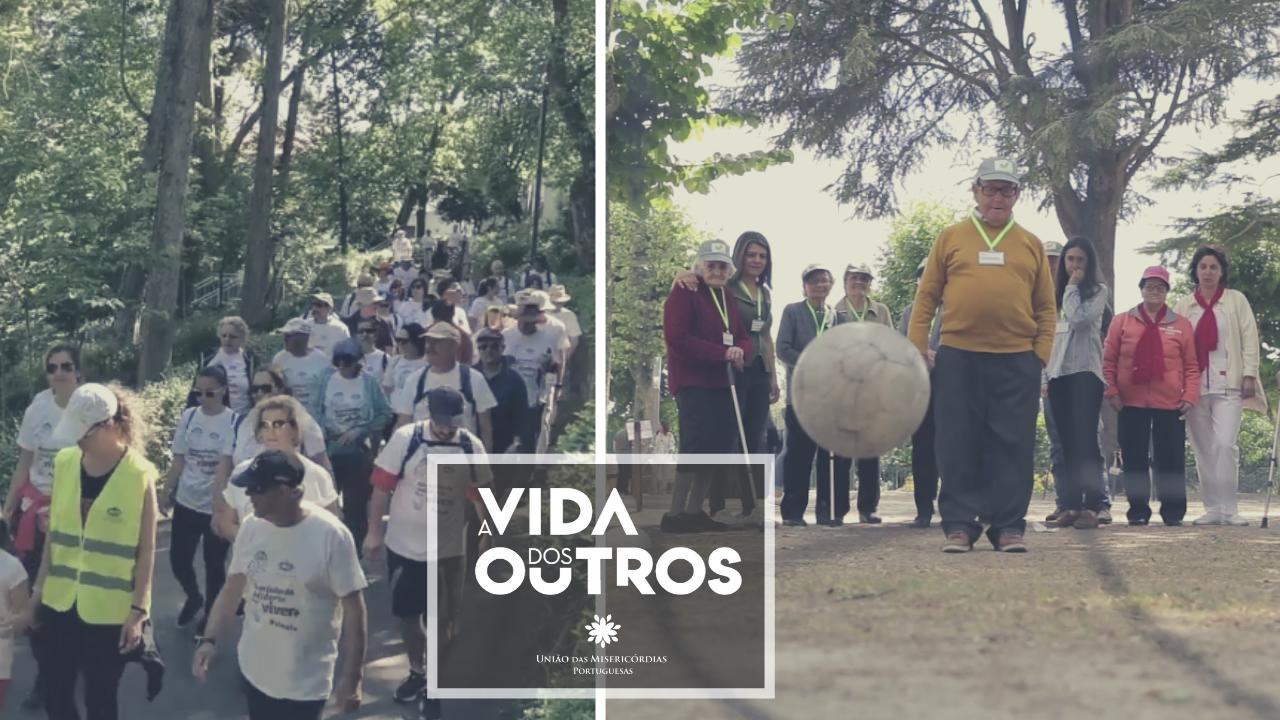 UMPtv   Atividade física solidária em Palmela e Chaves