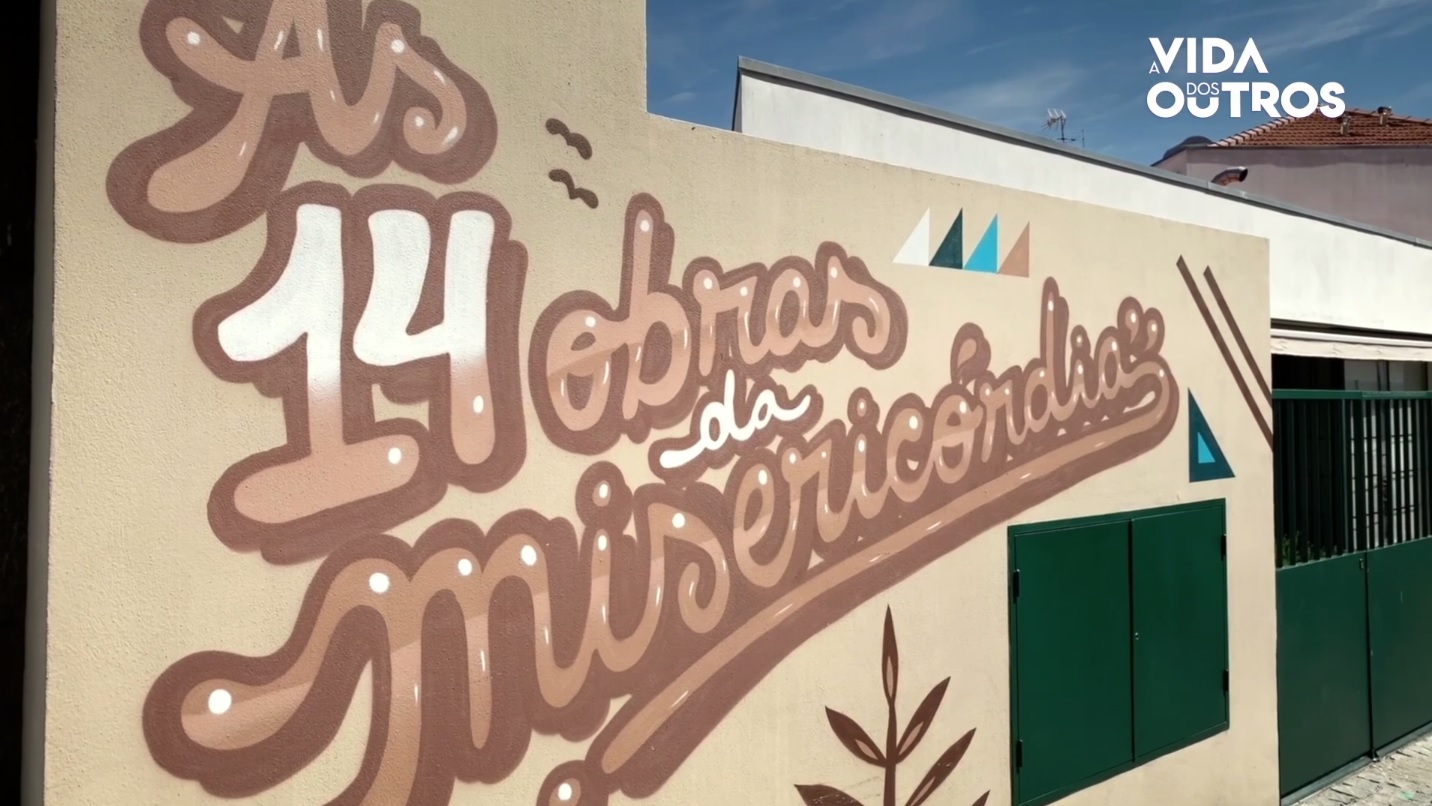 A Vida dos Outros | Arte urbana na Misericórdia de Penafiel