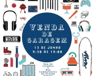 Aveiro | Primeira venda de garagem no bairro histórico